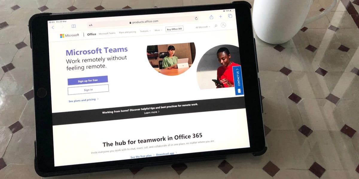 Ook straks weer op kantoor is Teams een handige tool